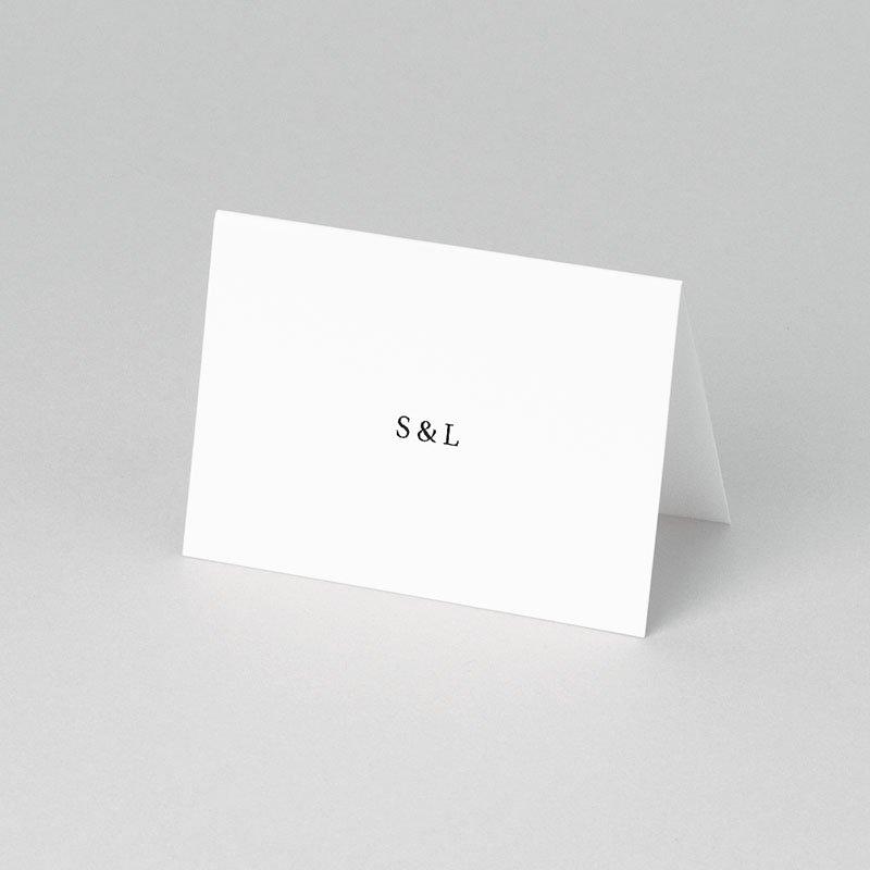 Tischkarten Hochzeit Typografisch und Form pas cher