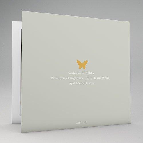 Geburtskarten für Mädchen Butterfly gratuit