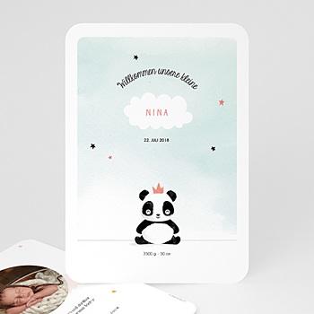 Geburtskarten für Mädchen - Koala Mädchen - 0