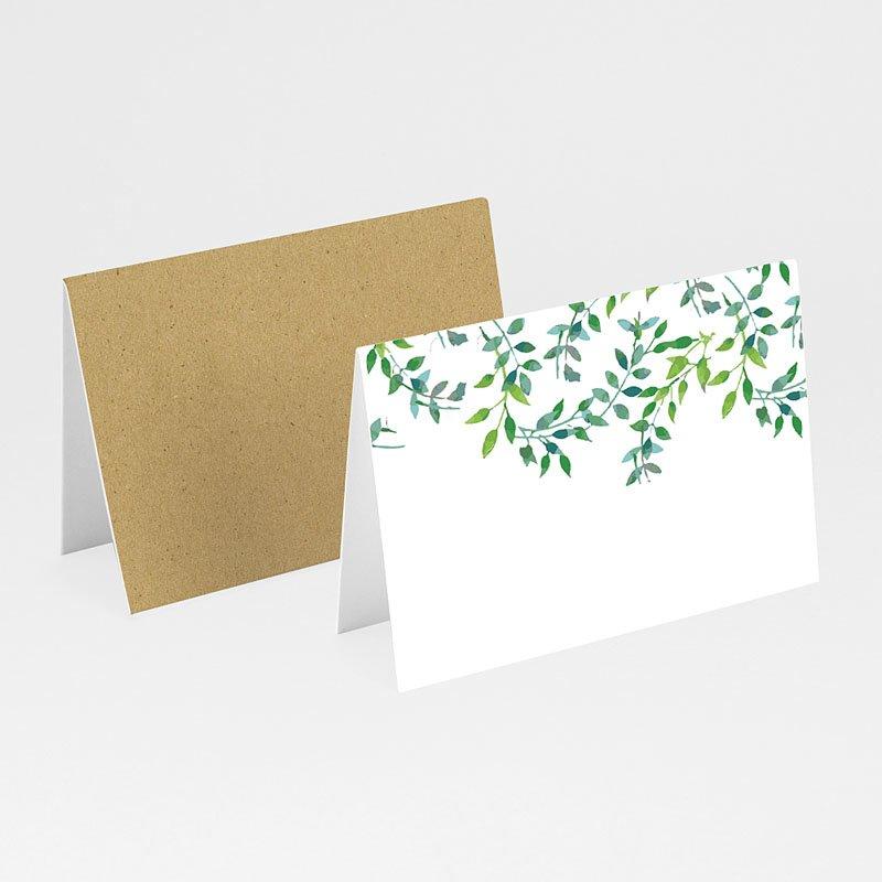 Tischkarten Hochzeit Greenery