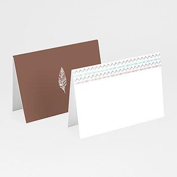 Tischkarten Hochzeit - Boho Tribal - 0