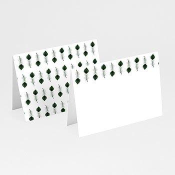 Tischkarten Hochzeit - Pfauenfeder - 0