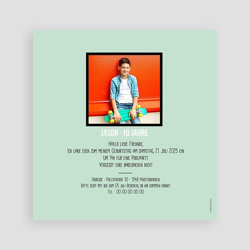 Einladungskarten Kindergeburtstag - Fun 60187 thumb