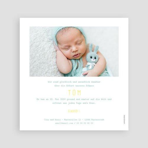 Geburtskarten für Jungen Limoncello pas cher