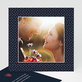 Dankeskarten Hochzeit mit Foto - So Chic - 0