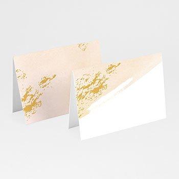 Tischkarten Hochzeit Aquarell Sanft