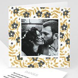Danksagungskarten Hochzeit Anemona