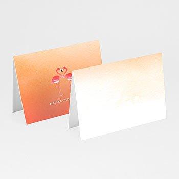 Tischkarten Hochzeit - Bunt & knallig - 0