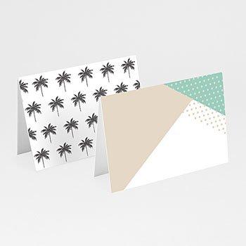 Tischkarten Hochzeit - Palm Springs - 0