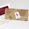 Reisen Hochzeitseinladungen Wedding Pass