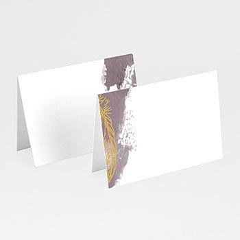 Tischkarten Hochzeit - Heart Wood - 0