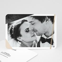 Dankeskarten Hochzeit mit Foto Metropolitan