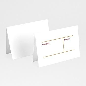 Tischkarten Hochzeit - Wedding Pass - 0