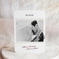 Dankeskarten Hochzeit mit Foto Wedding Pass