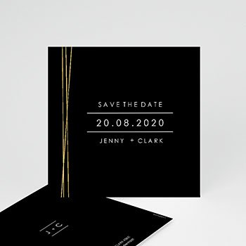 Save The Date  - Minimaliste Chic - 0