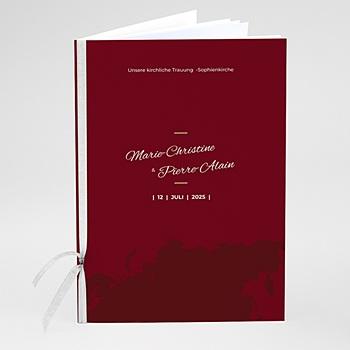 Kirchenheft zur Hochzeit individuell gestalten - Wedding Pass - 0