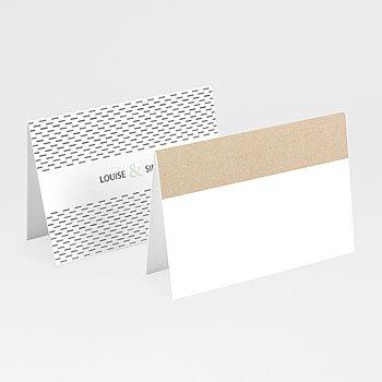 Tischkarten Hochzeit - Pastel & Neutral - 0