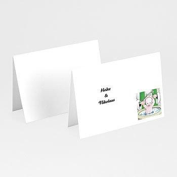 Tischkarten Taufe - Taufbecken - 1