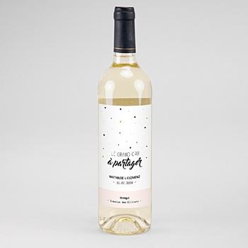 Flaschenetiketten Hochzeit - Ja, ich will - 0