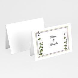 Tischkarten Hochzeit personalisiert Lavendel