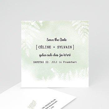 Save The Date  Farngrün