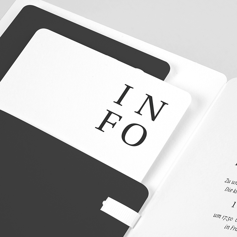 Hochzeitseinladungen Typografisch und Form pas cher