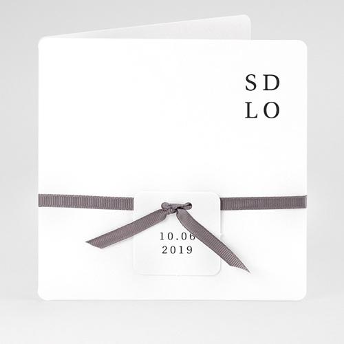Hochzeitseinladungen Typografisch und Form
