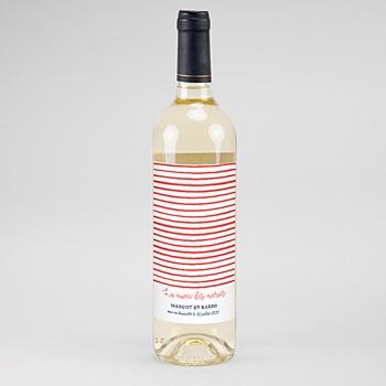 Flaschenetiketten Hochzeit - So french - 0