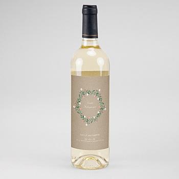 Flaschenetiketten Hochzeit - Wiesenhochzeit - 0