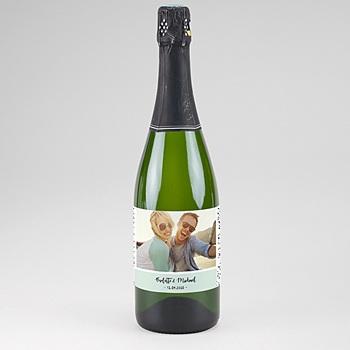 Flaschenetiketten Hochzeit - Grafik Love - 0