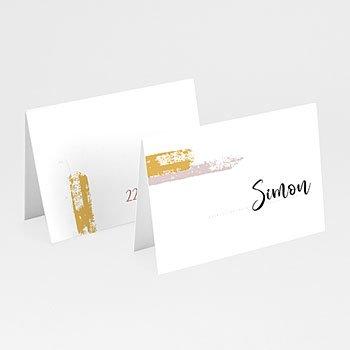 Tischkarten Hochzeit - Rose Quarz - 0