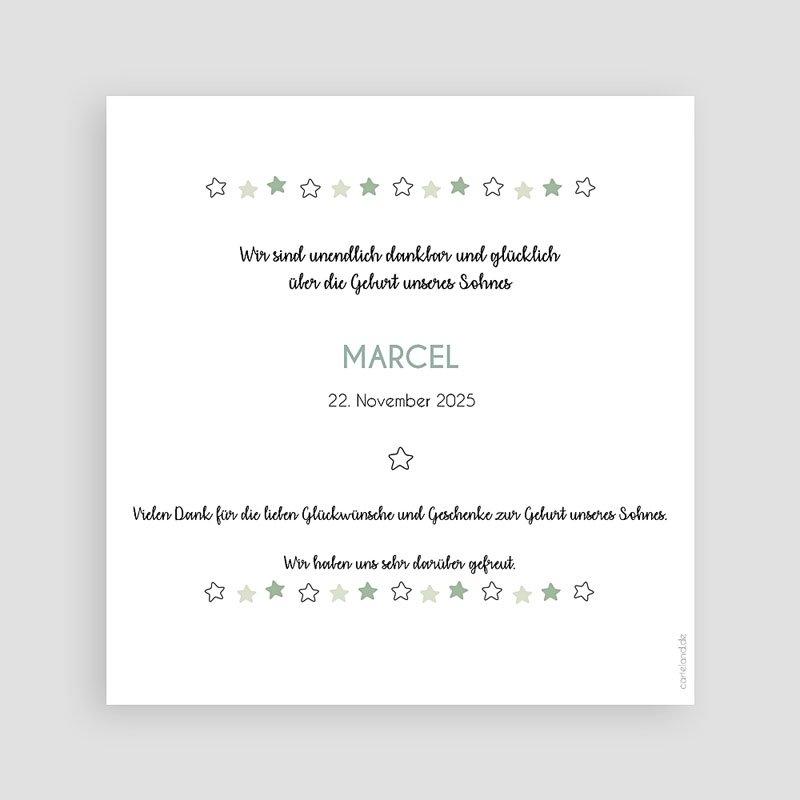 Geburtskarten für Jungen Kaktusland pas cher