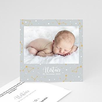 Geburtskarten für Jungen - Voûte étoilée - 0