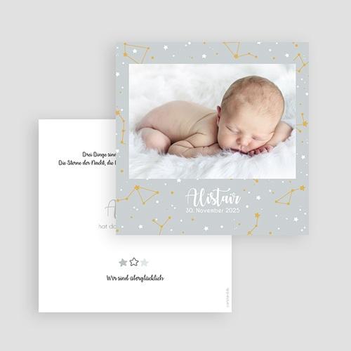 Geburtskarten für Jungen Weltall gratuit