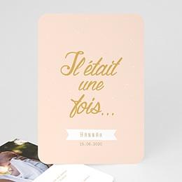 Geburtskarten für Mädchen Il était une ... fille