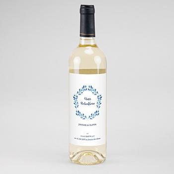 Flaschenetiketten Hochzeit - Mediterran - 0