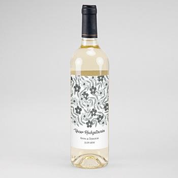 Flaschenetiketten Hochzeit - Anemona - 0