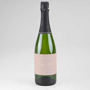 Flaschenetiketten Hochzeit - Wildrose - 0