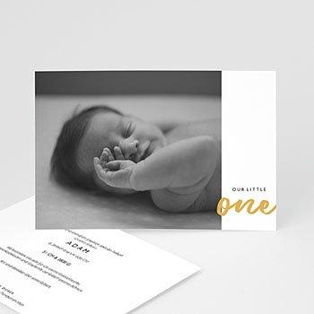 Geburtskarten für Jungen - Our Little One - 0
