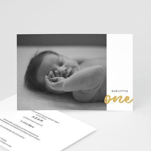Geburtskarten für Jungen Our Little One