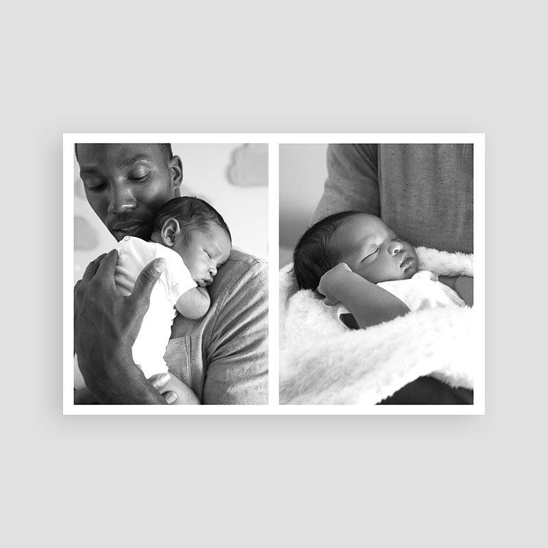 Dankeskarten Geburt Jungen - Our Little One 61315 thumb