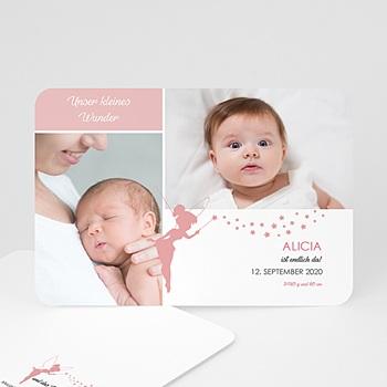 Geburtskarten für Mädchen - Unser kleines Wunder - 0