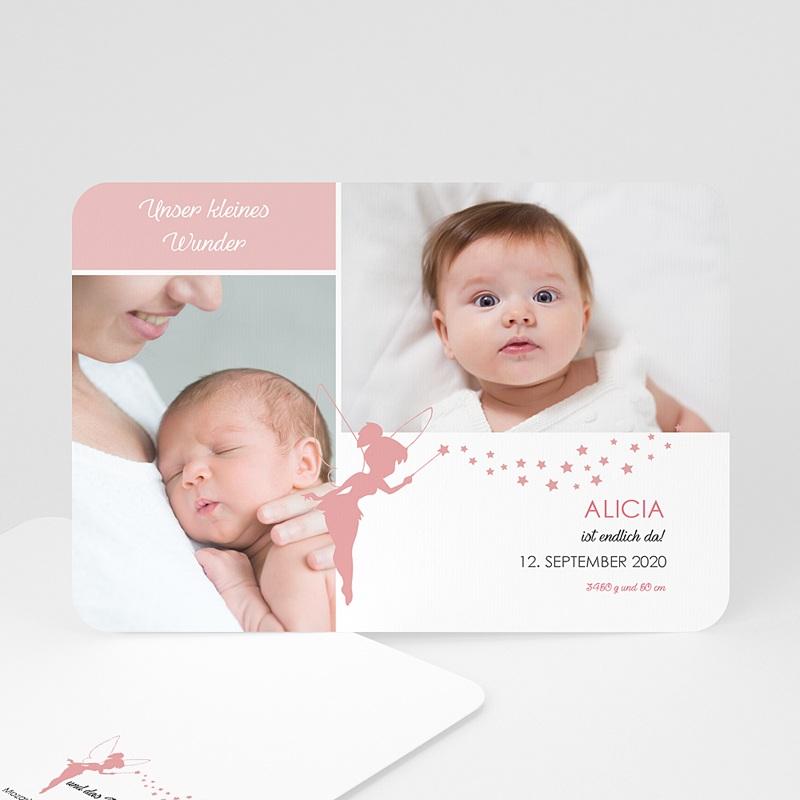 Geburtskarten für Mädchen Unser kleines Wunder