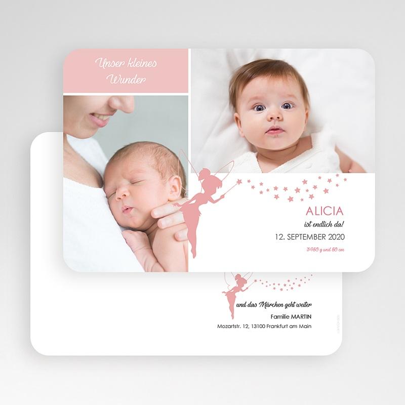 Geburtskarten für Mädchen Unser kleines Wunder gratuit