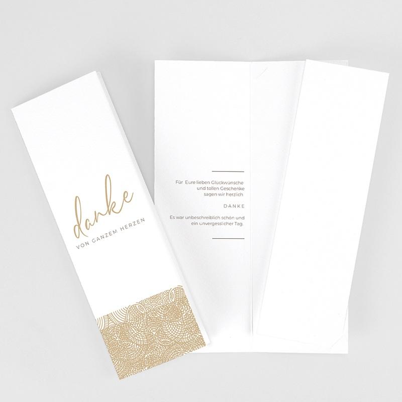 Elegante Dankeskarten Hochzeit Yebra
