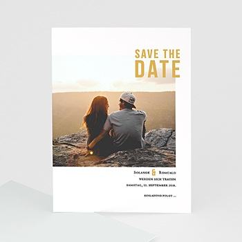 Save The Date  - Photo & Typo - 0