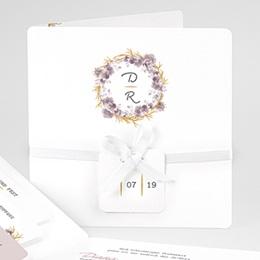 Einladungskarten Hochzeit  Vintage Chic Rose