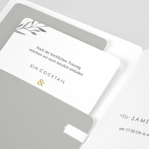 Einladungskarten Landhochzeit - Olivenzweige Aquarell 61460 thumb
