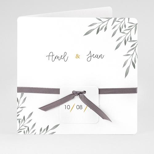 Einladungskarten Landhochzeit - Olivenzweige Aquarell 61462 thumb