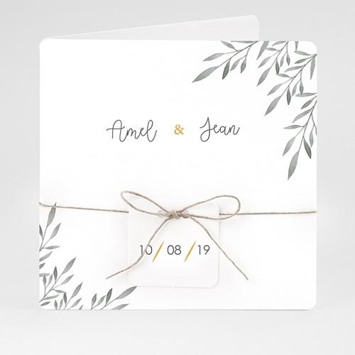 Einladungskarten Landhochzeit - Olivenzweige Aquarell 61463 thumb